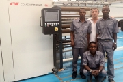 Socipack has invested in Comexi S2 D2 slitter-rewinder for its headquarters in Abidjan, Ivory Coast