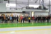 The new Bobst 20SEVEN CI flexo press installed at CPI in Indonesia