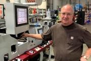 Darren McClintock, pressroom manager at Craftsman Label