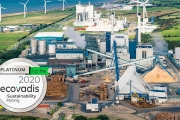 Iggesund Paperboard's mill in Workington, UK, has been awarded the Platinum sustainability medal