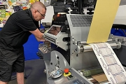 Hub Labels has invested a Grafisk Maskinfabrik (GM) HOTFB330 standalone hot stamp unit to replace its existing equipment and expands label embellishments capabilities