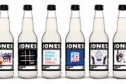 Jones Soda turns bottles into voter registration tools