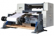 The new 350m/min speed jumbo slitter installed at Kumar Labels facility
