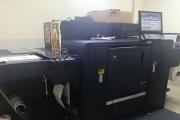 Saicom Code overcomes lockdown using Konica Minolta press