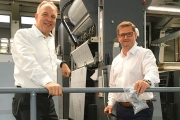 Gräfe has been confirmed as one of the first print finishing companies to participate in Leonhard Kurz's PET recycling program