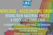 LMAI webinar on increasing raw material prices