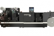 Digital Pro 3 with semi-rotary die-cutting and pre-digital flexo print station