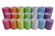 MAXStick Products has launched PlusD Colors, direct thermal liner-free labels with a patented Diamond Pattern adhesive