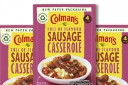 Unilever has partnered with Mondi to develop a new high barrier paper-based packaging material for its Colman's dry Meal Maker and sauces range