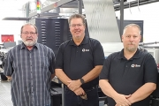 L-R: Don Morris, general manager; Scott Smith, owner and president; Greg Swindle, production manager, TQL Packaging Solutions.
