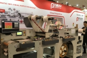 Pulisi debuted its latest AIMPR-350S inspection rewinder system at Labelexpo Europe 2019