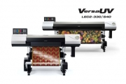 Apsom Infotex, the distributor of Roland DG in South Asia, has launched launch Roland VersaUV LEC2-640/330 64 inches and 30 inches wide-format UV printer/cutter