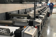 Alyaska-Poligrafoformlenie has invested in a 10-color MPS EFA 430 flexo press to expand its overall production capabilities