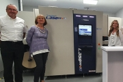 Impact Labelling Systems has invested in the first in Ireland Screen Truepress L350UV+ LM press