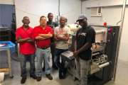Lithographic Printers based in Jamaica has invested in a DC330NANO label finisher from Grafisk Maskinfabrik (GM).
