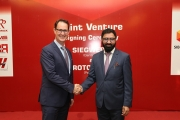 Siegwerk has signed a joint venture agreement with Rotopack, one of the leading suppliers in Pakistan