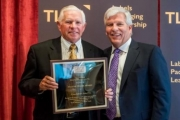 This is Consolidated Label's eighteenth time winning the Eugene Singer Award