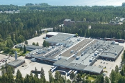 UPM Raflatac factory in Tampere, Finland, one of the site awarded with ISCC PLUS certification
