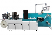 Vinsak has upgraded its Usar universal slitter and rewinder with an inkjet unit featuring UV/IR drying and 100 percent inspection