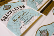 Flexo print on paper – narrow (gold)/Best in Show (silver) for Shackleton Front by MCC Scotland