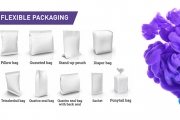 Image examples of common flexible packaging types. Source: Esko