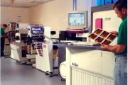 Indigo's Omnius press was launched in 1995