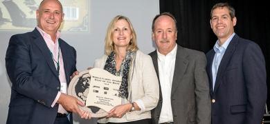 Syracuse Label & Surround Printing, USA, won a Best of the Beset award for its 'Drawbridge Gin' label