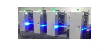 CoolUV lamps can be used on almost any printing press, whether offset, flexo, silkscreen, inkjet or gravure