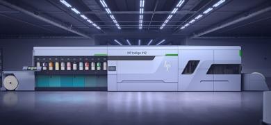 HP Indigo unveils high speed label press