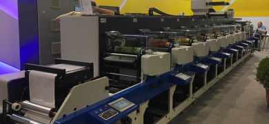 First-time exhibitor JD Press launched its JDF 420/330 flexo press at Labelexpo Europe