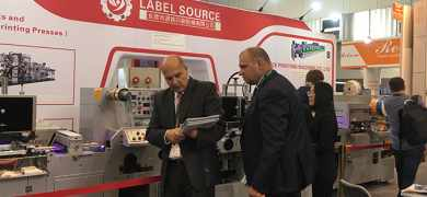 Label Source showcased its latest flexo press at Labelexpo Europe
