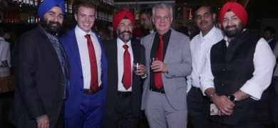 Printronics and Weldon Celloplast, the two Omet partners in the Indian sub-continent at the first Omet India event