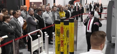 Bobst hosted an open house at its new Flexo Center of Excellence at Bobst Bielefeld in Germany, giving attendees the opportunity to experience the entire flexo process from start to finish.
