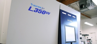 Turkish converter  Erdal Printing & Labe chooses Truepress Jet 350UV for tough and durable labels
