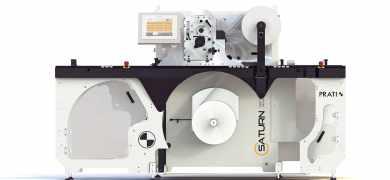 Prati Saturn TE450 slitter rewinder