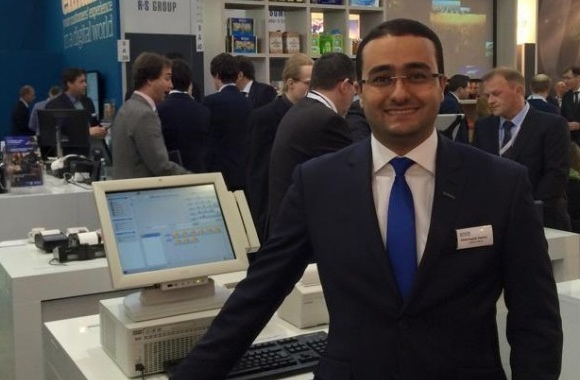 Abderrazek Hakimi, sales manager, business systems solutions, Epson Middle East