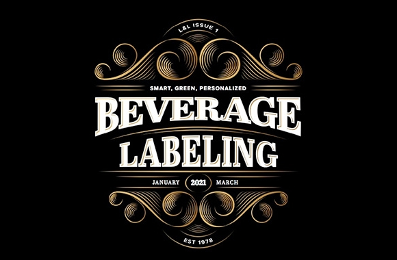 Beverage labels become greener and smarter
