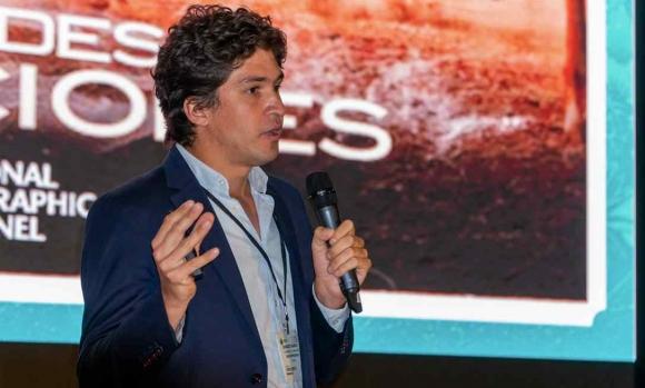 Iganacio Ramos, commercial manager at R&R Impresores, speaking at Label Summit Latin America 2020