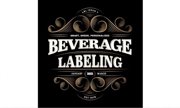 Beverage labels become greener and smarter