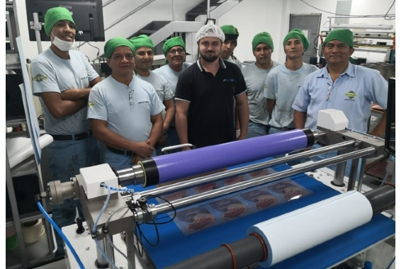 Ecuador-based Expoplast has installed the wider 900mm version of the FTS