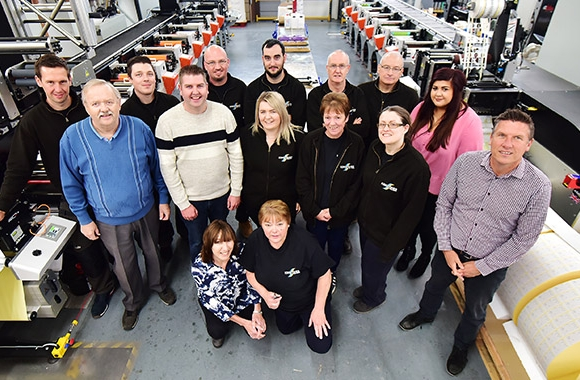Kingfisher Label's team is a crucial element of its consistent progress