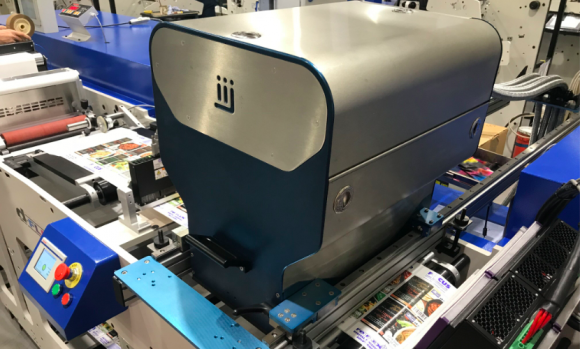 Hybrid printing developments were on show