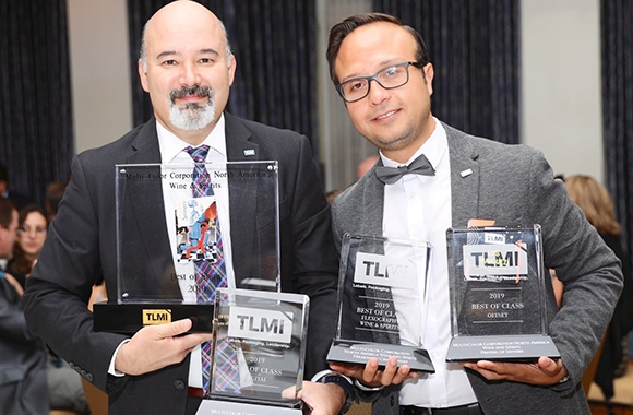 Gabriel Ramirez and Luis Ricardo Marquez Gete from Multi Color Corporation Mexico at the TLMI Annual Meeting