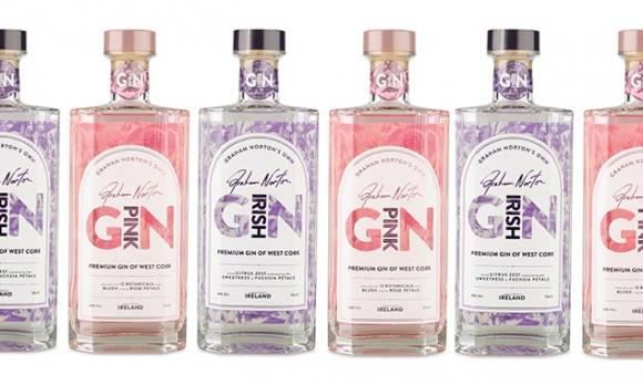 The award-winning labels for Graham Norton Irish Gin were produced by Watershed