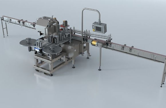 Accraply has introduced the Trine modular labeling station, an upgrade for existing Trine roll-fed labelers