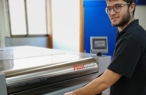 Etiquetes Anoia has invested in Flint Group's nyloflex FTS printing plates with inherent flat top dots