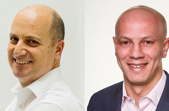 L-R: Burak Sabhaz, VP of sales and Noel Kasmi, VP of marketing at Avery Dennison Label and Packaging Materials, EMENA