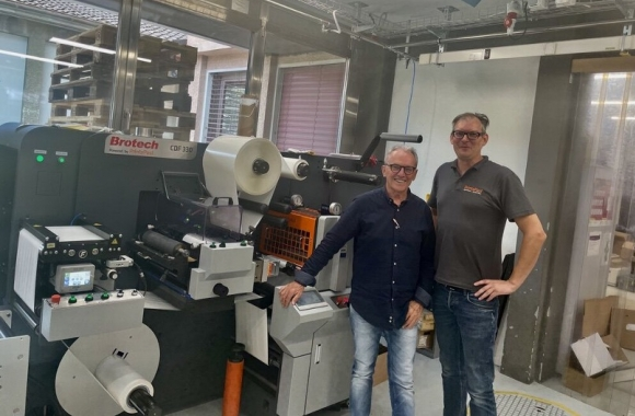 Switzerland-based label converter P. Lenzlinger has invested in a Brotech CDF-330 finishing system
