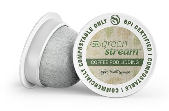 C-P Flexible Packaging has launched BPI (Biodegradable Products Institute) certified compostable coffee pod lidding film