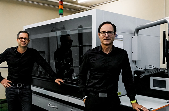 Oschatz Visuelle Medien has installed the first Canon LabelStream 4000 series UV inkjet digital label press in the country to broaden its application offering